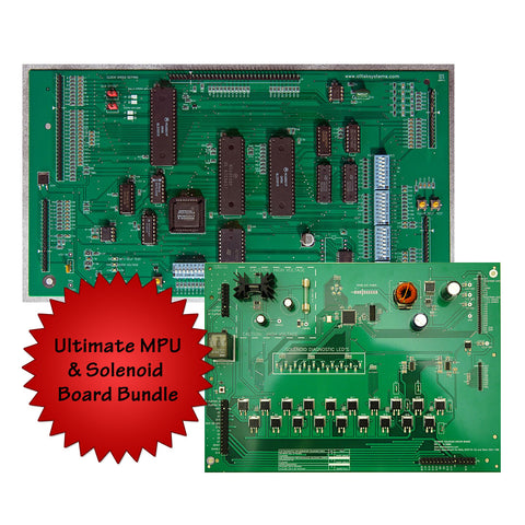 Ultimate MPU w/ Solenoid Driver Board Bundle