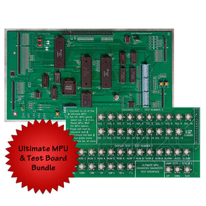 Ultimate MPU board and test card bundle