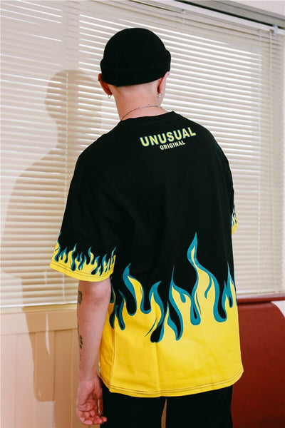 Dark Icon Flame Shirt