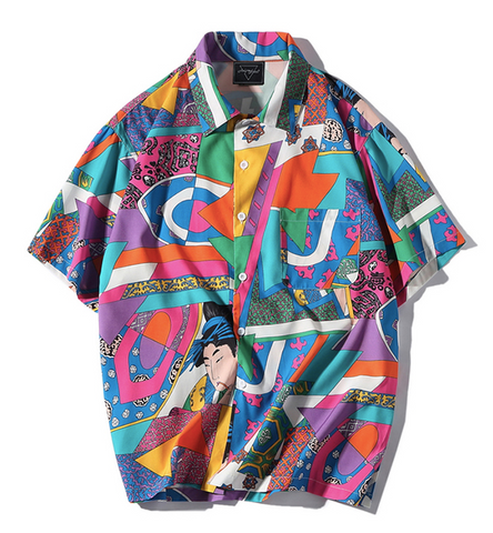 Anime Button Up