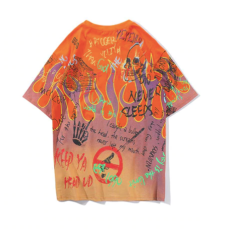 Fire All Over Tee