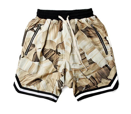 Floral Shorts with Draw String