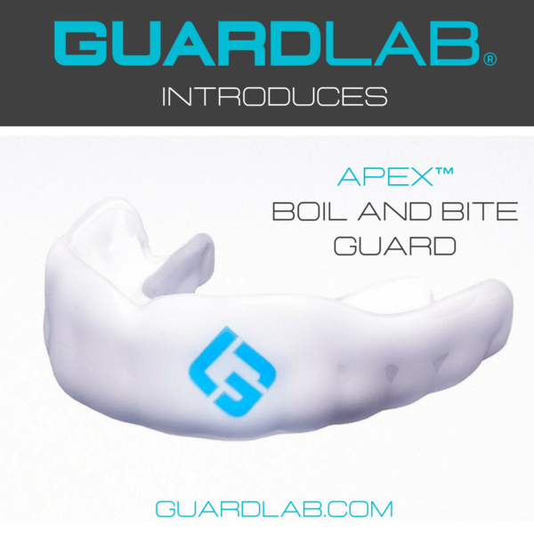 GUARDLAB EXPANDS PRODUCT LINE WITH THE APEX™ BOIL AND BITE MOUTHGUARD AND DIGITIZED AT-HOME IMPRESSION KITS TO MEET THE NEEDS OF ADULT AND YOUTH ATHLETES, EVERYWHERE