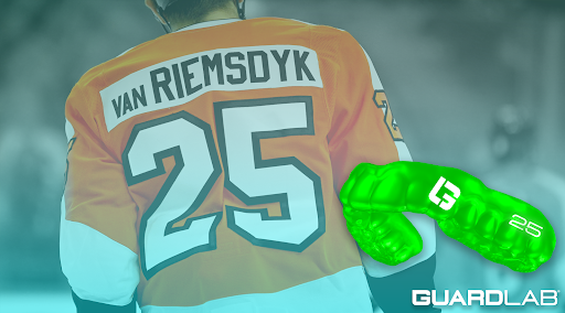 GuardLab Brand Ambassador James van Riemsdyk, photo credit: NBC Sports