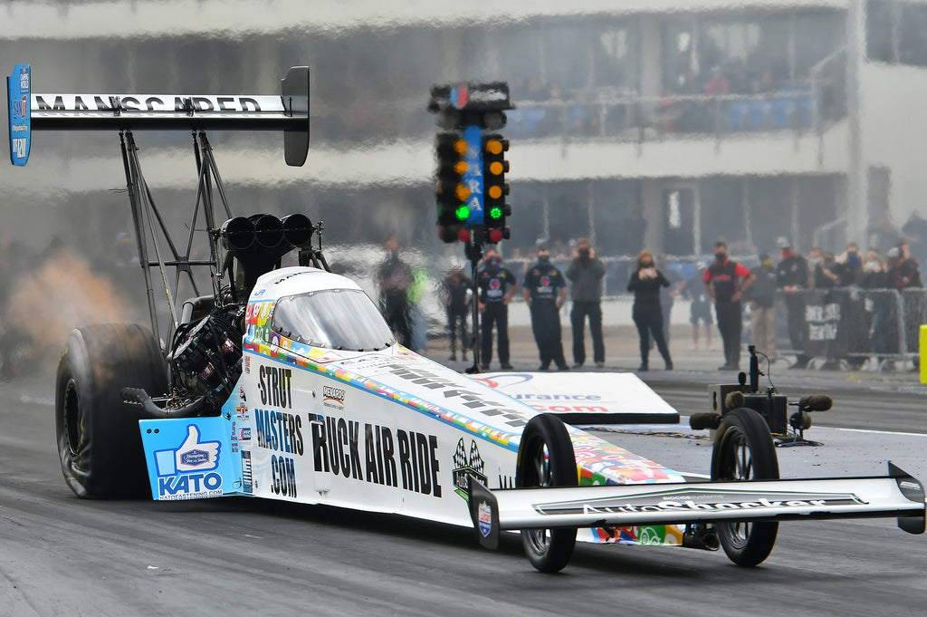 Justin Ashley leads NHRA Top Fuel in Reaction Times in his Rookie Season