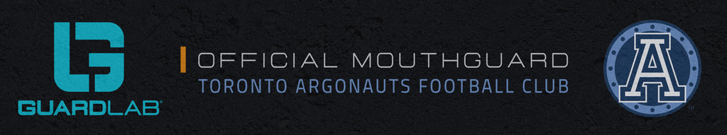 GuardLab is the Official Mouthguard of the Toronto Argonauts