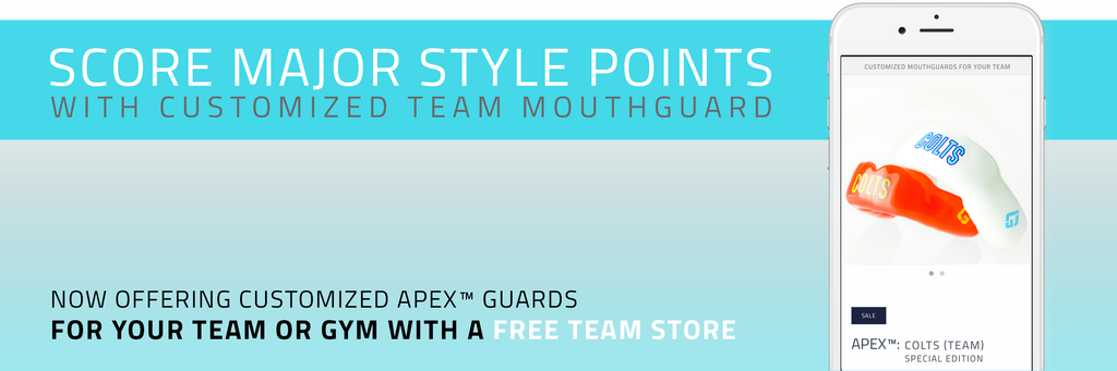 Custom team mouthguards team store