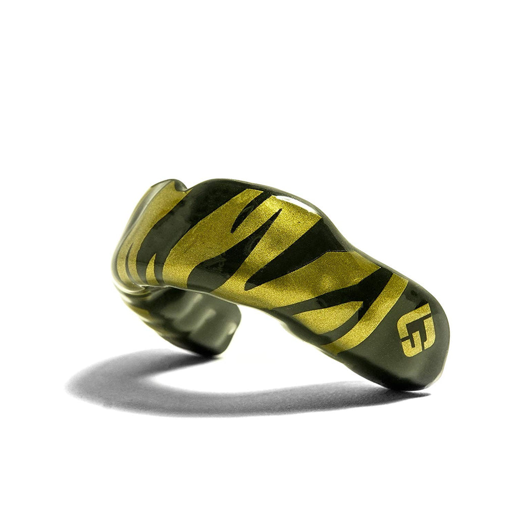 Black Tiger Mouthguard, GuardLab Logo