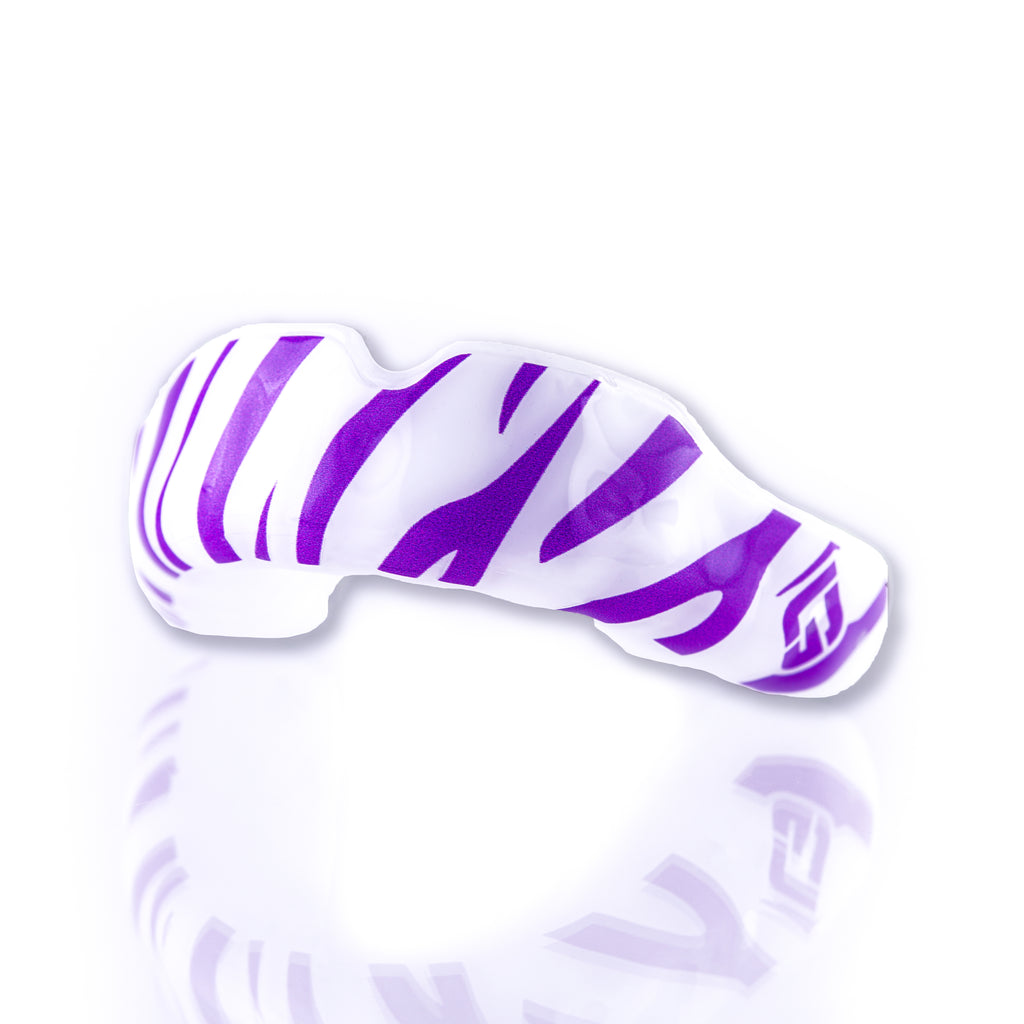 Purple Tiger Mouthguard w/ GuardLab Logo