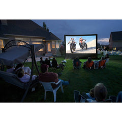 Open Air Cinema Inflatable Screen, CineBox Outdoor Home Theater System 9' - 20'- Bundle Package