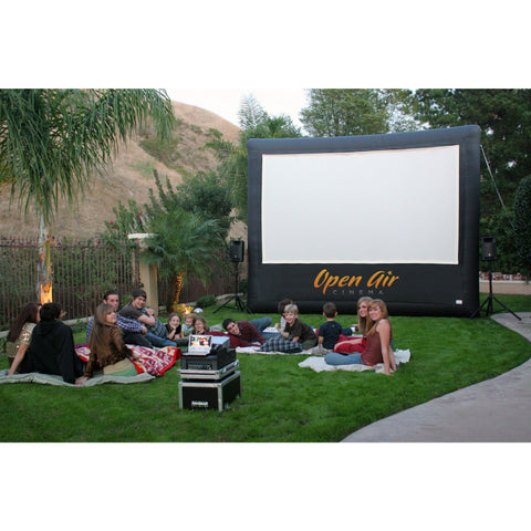 Open Air Cinema CineBox Event Pro 12' - 20' , Outdoor Theater Screen System- Bundle Package, Open Air Cinema - Projection Supply
