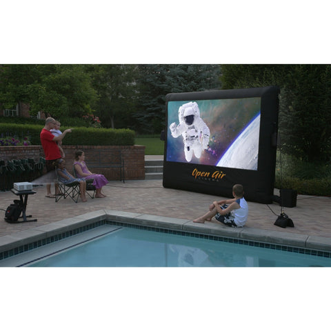 Open Air Cinema Outdoor Inflatable Home Projector Screen 9'-20' 16:9