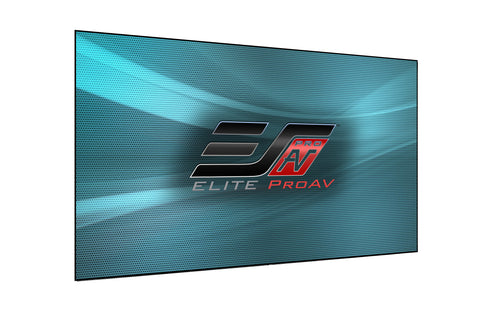 Elite Screens Aeon Fixed Projector Screen 110 inch 4K 16:9 CineGrey 5D