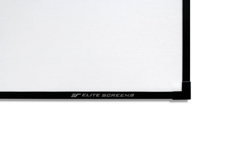Elite Screens Aeon AUHD Series Fixed Frame Edge Free Projector Screen 150 inch 16:9