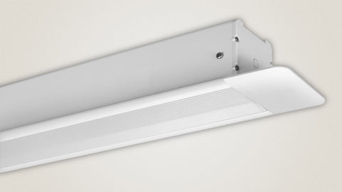 Recessed in-ceiling installation hides away the Spirit Series when it's not in use.