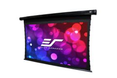 Elite Screens CineTension2 Front Tab Tensioned Electric Projector Screen 150 inch 16:9