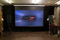 Elite Screens Saker Series Projector Screen 120 Inch 16:9 MaxWhite FG 1.1 Gain