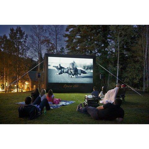 Open Air Cinema Outdoor Inflatabe Home Projection Screen 9' - 20' (16:9 Format), Open Air Cinema - Projection Supply