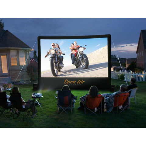 Open Air Cinema Inflatable Screen, CineBox Outdoor Home Theater System 9' - 20'- Bundle Package, Open Air Cinema - Projection Supply