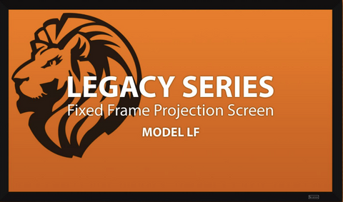 "Severtson Fixed Frame Projection Screen Legacy Series 16:9, 92""-150"""