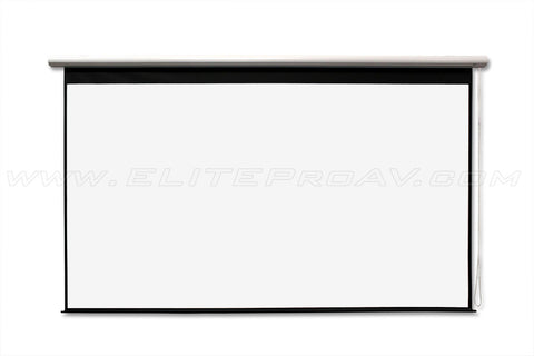 Elite Screens Manual Screen 180 inch 16:9 MaxWhite 1.1 Gain