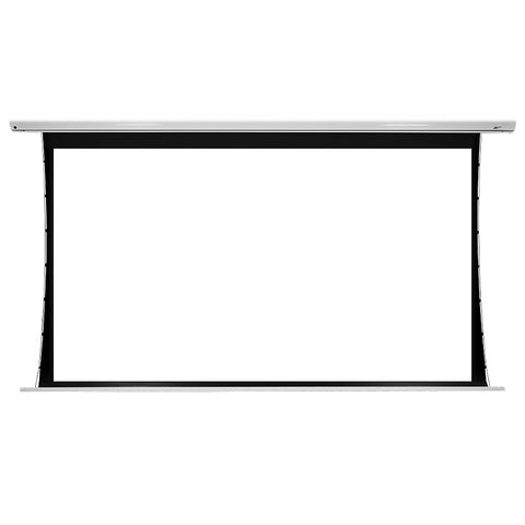 Elite Screens SKT135XHW-E6 Saker Tab-Tension, 135-inch Diag 16:9, Tensioned Electric Projection Projector Screen