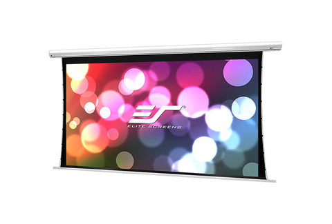 Elite Screens Saker Tab-Tension B 150 inch Projector Screen Drop Down