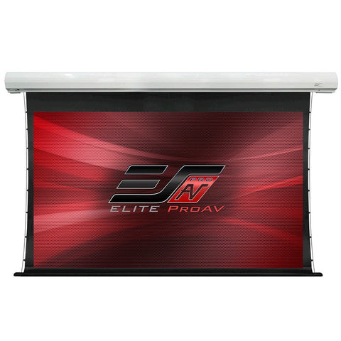 Elite Screens Motorized Electric Tab Tension Screen SKT110XHW-E24 110""