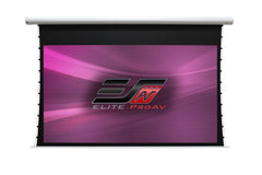 "Elite Screens Electric Motorized Projector Screen Tab Tension 135""16:9"