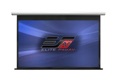 "Elite Screens Saker Electric Motorized Drop Down Projector Screen 100""16:9 with 24"" Drop"