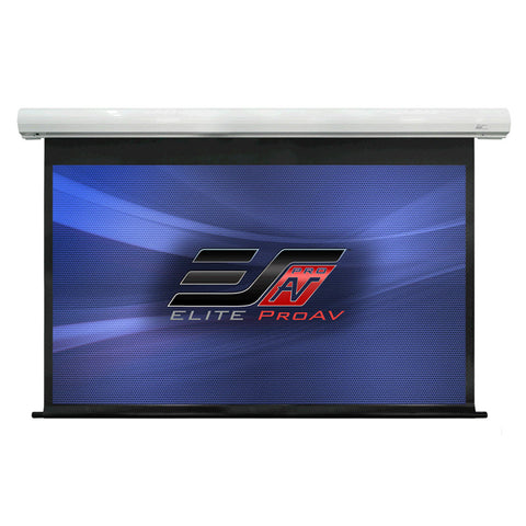 Elite Screens Motorized Electric Projector Screen 3D, 4K HD 120 Inch