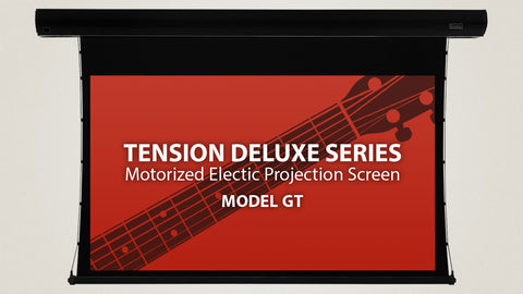 "Severtson Motorized Electric Projection Screens Tension Deluxe Series 16:9 , 92""-150"""
