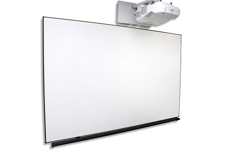 Elite Dry Erase White Projector Screen Classroom Whiteboard 16:9, 90""