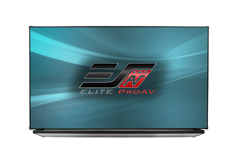 "Elite Screens White Board Screen Thin Edge 97"" (47X83) 16:9 VERSAWHITE 1.1 GAIN WB97HW1"