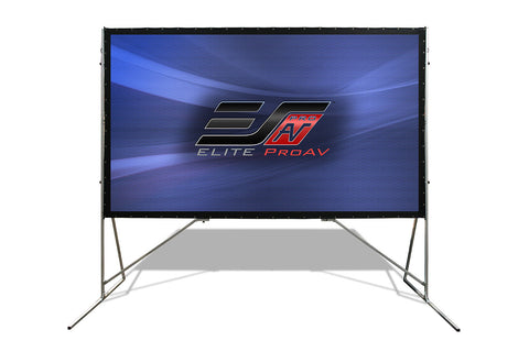 Elite ScreensPortable Outdoor Projector Screen Rear Projection 180 inch