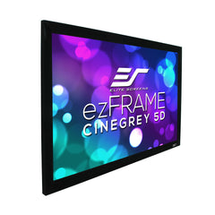 "Elite Screens ezFrame CineGrey 5D 200"" 4K HD Fixed Projector Screen"
