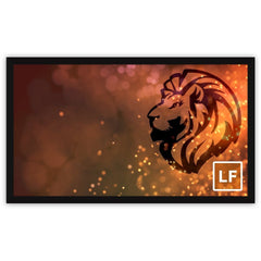 "Severtson Fixed Frame Projector Screen 4k Movie Screen 2:35:1,113""-141"