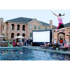 Open Air Cinema Event Pro Outdoor 16:9 12' - 20'  Inflatable Projection Screen