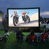 Image of Open Air Cinema Outdoor Inflatable Home Movie Projector Screen 16:9