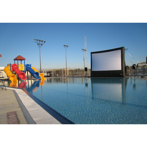 Open Air Cinema Event Pro Outdoor 12' - 20'  Inflatable Projection Screen, Open Air Cinema - Projection Supply