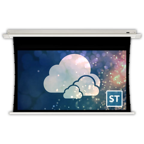 "Motorized Electric Projector Screen In Ceiling Retractable 92"" - 150"""