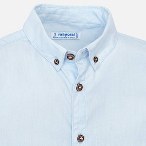 Carousel Cotton Button Down Shirt