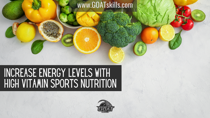 Increase Energy Levels with High Vitamin Sports Nutrition