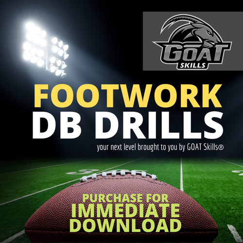 FOOTBALL FOOTWORK DB DRILLS