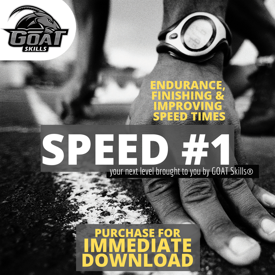 ALL SPORTS SPEED WORKOUT SERIES #1