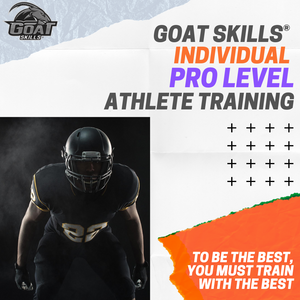 GOAT Skills® Individual PRO LEVEL Athlete Training Session
