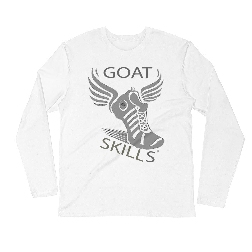 GOAT Skills Track Legend Begins Long Sleeve Fitted Crew