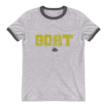 Load image into Gallery viewer, GOAT Skills All Pro Ringer T-Shirt - Gold Edition
