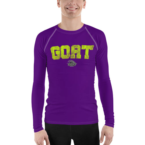 GOAT Skills All Pro Long Sleeve Active Wear Purple and Gold Edition