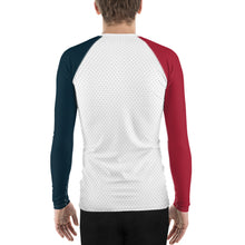 Load image into Gallery viewer, GOAT Skills All Over Long Sleeve 2 Tone Active Wear Red and Blue